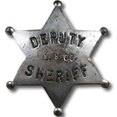 LASD Old Badge