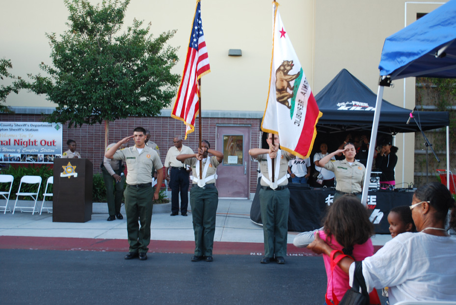 Explorer Post 1019 Color Guard