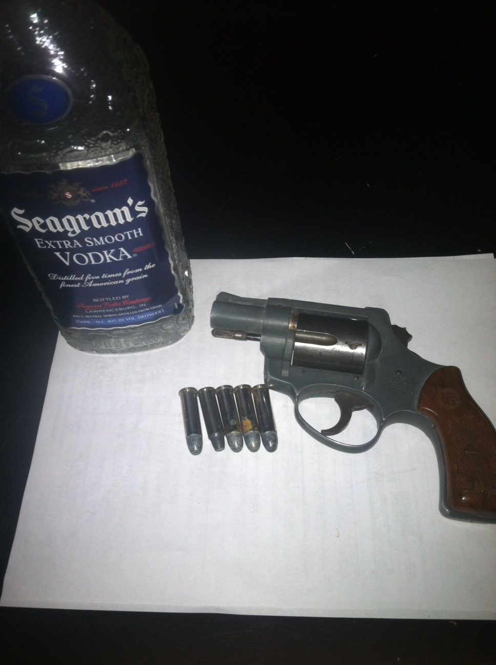 Gun recovered on March 20, 2013
