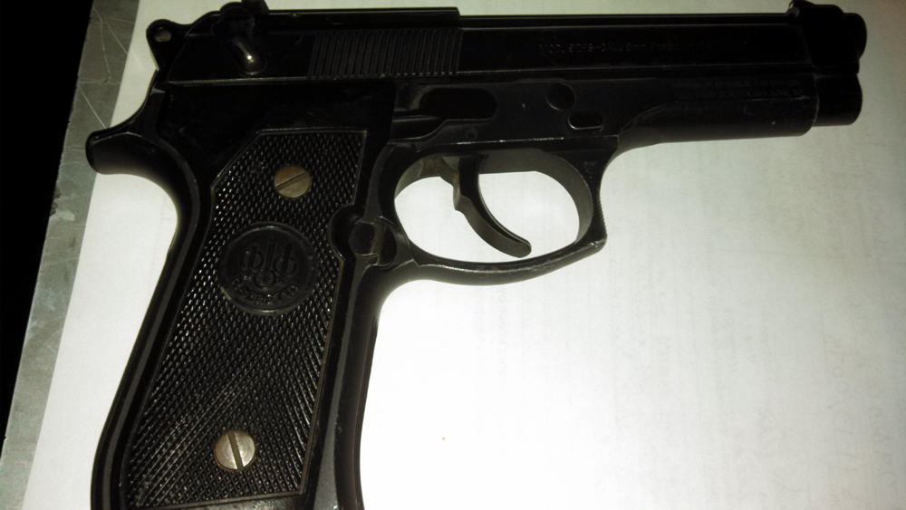 Gun recovered on March 21, 2013
