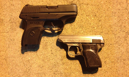 Recovered Handguns
