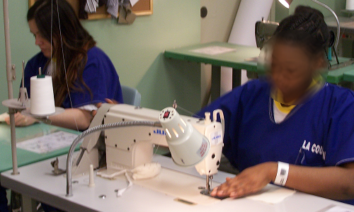 Classes teach basic sewing skills to participating inmates