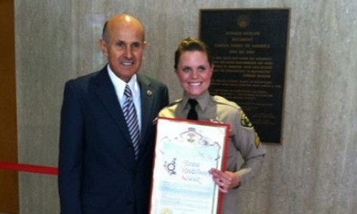 Sheriff Baca and Deputy Underwood-Nunez