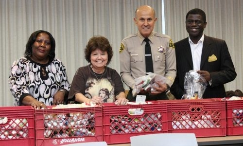 Sheriff Baca and representatives from the Action Committee for Women in Prison