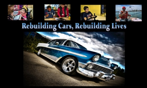 Rebuilding Cars, Rebuilding Lives Flyer