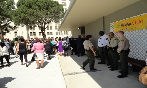 Picture of Sheriff's personnel at event