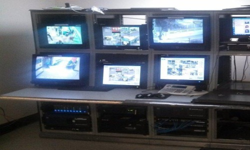 Picture of Dispatch Area before upgrades