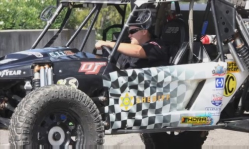 Sheriff's Department Off-Road Racing Vehicle
