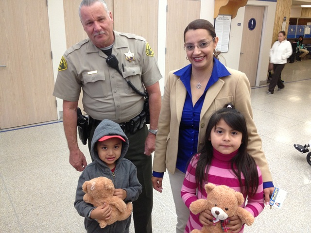 Picture of Deputy and Family