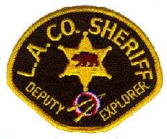 LASD Explorers Patch