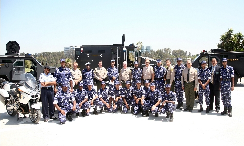 Qatari Motorcycle Force with LASD