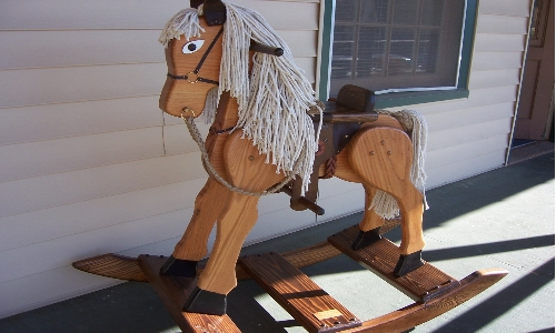 Special Order Wood Rocking Horse