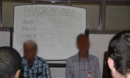 Malachi Men at NCCF