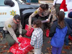 PARKS BUREAU DEPUTIES AND KIDS