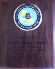 """Boating Officer of the Year"" award"