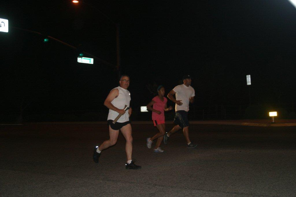 Palmdale Sgt. Sauer Carrying the Torch