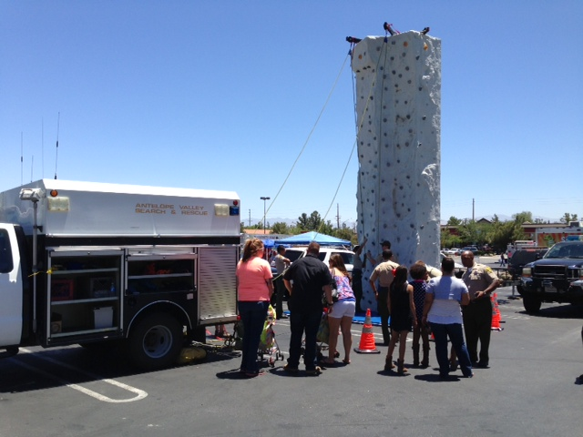 Search and Rescue, Climbing Wall