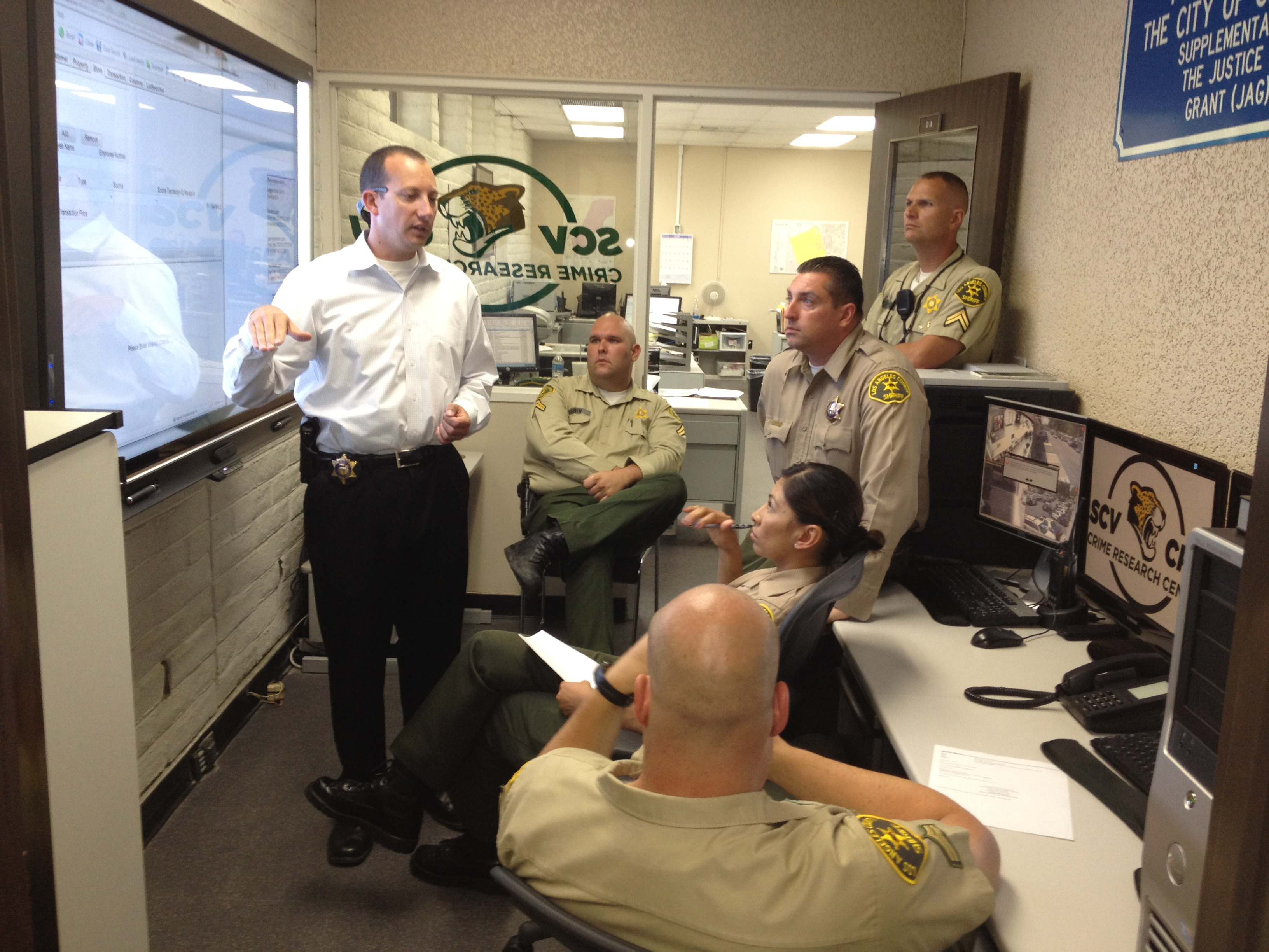 Briefing in the Crime Research Center