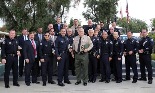 45th Annual Los Angeles County Peace Officers' Memorial Ceremony