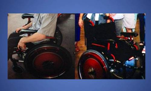 Request Public Assistance in Locating Stolen Wheelchair