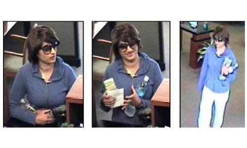SCV Female bank robber