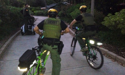 SCV Deputies Conduct High Visibly Patrol