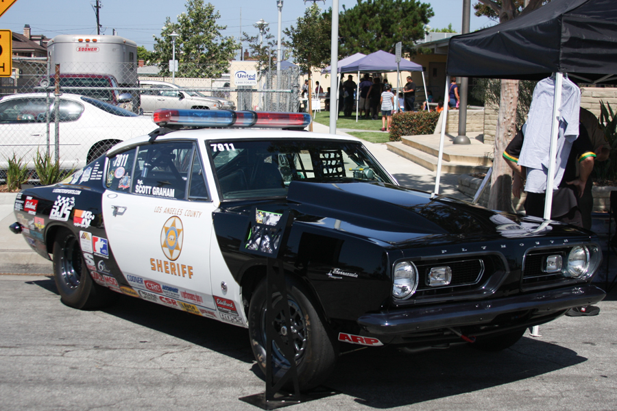 Sgt. Scott Graham's Race Car
