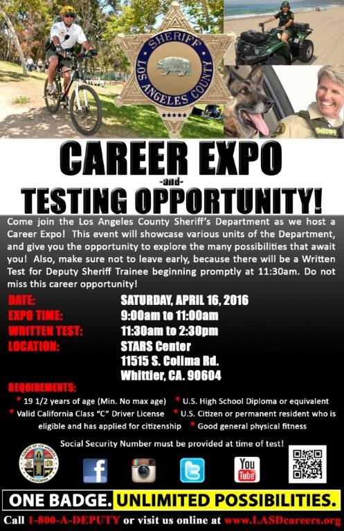 Career Expo April 16