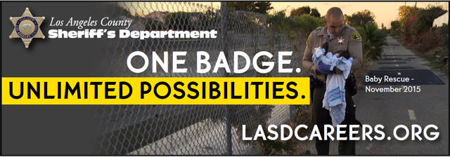 A Career with Purpose, One Badge, Unlimited Possibilities #JOINLASD